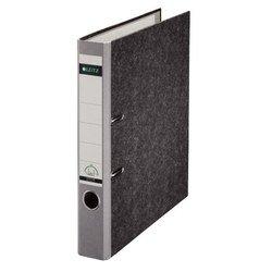 Папка-регистратор A4, 50 мм, картон (Leitz 10500285P) (серый) - Папка-регистраторПапки-регистраторы<br>Папка-регистратор незаменима для удобного хранения, использования и транспортировки документов и материалов, идеально подходит для ежедневного использования.