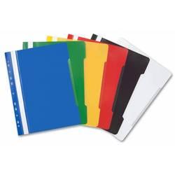 Папка-скоросшиватель (Бюрократ PS-P20) (желтый) - Папка-скоросшивательПапки-скоросшиватели<br>Папка-скоросшиватель Бюрократ PS-P20 формата А4 имеет прозрачный верхний лист, боковая перфорация