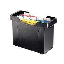 Бокс для подвесных папок (Leitz Plus) (черный) - Папка-скоросшивательПапки-скоросшиватели<br>Бокс Leitz Plus предназначен для подвесных папок