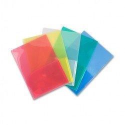 Папка-уголок Бюрократ E570 (красный) - Папка-уголокПапки-уголки<br>Папка-уголок имеет 2 внутренних горизонтальных кармана, формат А4, пластик 0.18мм