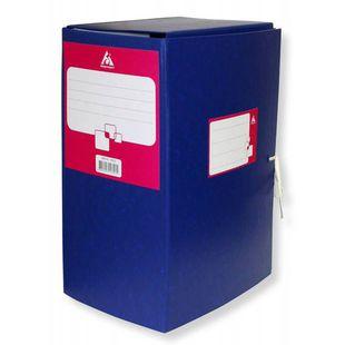 Короб архивный с завязками Бюрократ BKA-150 бумвинил 150мм собранный ассорти - Короб архивный (бумвинил)Короба архивные (бумвинил)<br>Вес (кг) 0.61, Объем (м3) 0.0134