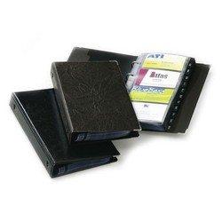 Визитница Durable на 200 карт PVC коричневая - ВизитницаВизитницы<br>Вес (кг) 0.09, Объем (м3) 0.002