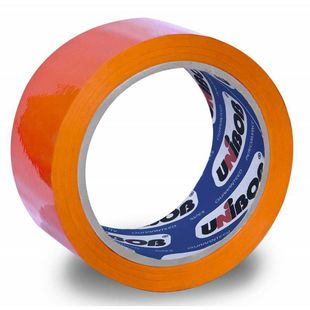 Клейкая лента Unibob 600 цветная 48мм*66м оранжевая (41156) - Клейкая лентаКлейкая лента<br>Вес (кг) 0.158, Объем (м3) 0.00059