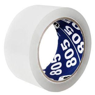 Клейкая лента Unibob 805 упаковочная 50мм*66м 50мкр прозрачная (41166) - Клейкая лентаКлейкая лента<br>Вес (кг) 0.18, Объем (м3) 0.00055