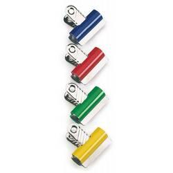 Зажим Rapesco RCB30COL Letter Clips 30мм 10шт ассорти - Скрепка, кнопка, зажимСкрепки, кнопки, зажимы<br>Вес (кг) 0.09, Объем (м3) 0.00041