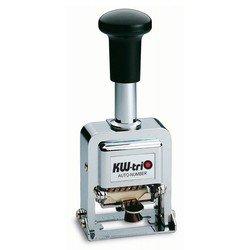Нумератор KW-trio 20700 автоматический 7 разрядов высота цифр 4.2мм металлический - Штемпельная продукцияШтемпельная продукция<br>Вес (кг) 0.44, Объем (м3) 0.00084