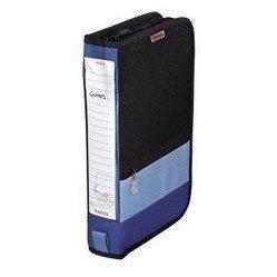 Портмоне Hama H-84145 Office для 64 CD (черно-синий) - Альбом, коробка, стойка для CD, BD дискаАльбомы, коробки, стойки для CD, BD дисков<br>Портмоне Hama H-84145 защитит диски от повреждений, пыли и влаги. Портмоне рассчитано на 64 диска.