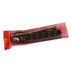 Сетевой фильтр Most LR 1.7м (6 розеток) (черный) - Сетевой фильтрУдлинители и сетевые фильтры<br>Most LR 1.7м - сетевой фильтр, позволяет подключить до 6 устройств. Длина шнура 1.7 метра. Выходные розетки (RUS) 6.