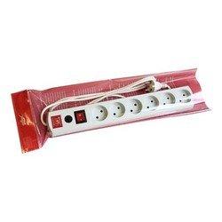 Сетевой фильтр Most LR 3м (6 розеток) (белый) - Сетевой фильтрУдлинители и сетевые фильтры<br>Most LR 3м - сетевой фильтр, позволяет подключить до 6 устройств. Длина шнура 3 метра. Выходные розетки (RUS) 6.