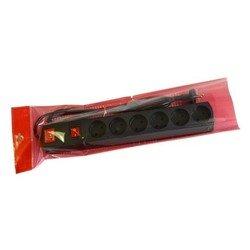 Сетевой фильтр Most LR 3м (6 розеток) (черный) - Сетевой фильтрУдлинители и сетевые фильтры<br>Most LR 3м - сетевой фильтр, позволяет подключить до 6 устройств. Длина шнура 3 метра. Выходные розетки (RUS) 6.
