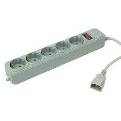 Сетевой фильтр PC Pet AP01006-E-GR (UPS) 1.8м (5 розеток) (серый) - Сетевой фильтр