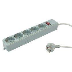 Сетевой фильтр PC Pet AP01006-1.8-GR 1.8м (5 розеток) (серый) - Сетевой фильтр