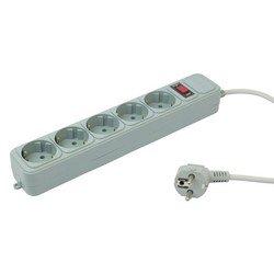 Сетевой фильтр PC Pet AP01006-3-GR 3м (5 розеток) (серый) - Сетевой фильтр