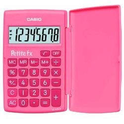 Casio LC-401LV-PK (розовый) - КалькуляторКалькуляторы<br>Калькулятор карманный Casio LC-401LV-BU 8 разрядов, розовый, книжка, питание от батареи.