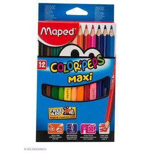 Карандаши цветные Maped Color Peps