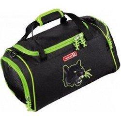Сумка спортивная Step By Step (Wild Cat H-119699) (черный) - Ранец, рюкзак, сумка, папкаРюкзаки и ранцы для школы<br>Step By Step - спортивная сумка, имеет привлекательный внешний вид, современный яркий дизайн.
