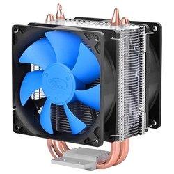 Deepcool ICE BLADE 200M - Кулер, охлаждениеКулеры и системы охлаждения<br>Deepcool ICE BLADE 200M - кулер для процессора, совместим с сокетами S775, S1150/S1155/1156, S1356/S1366, S2011, AM2, AM2+, AM3/AM3+/FM1, FM2, включает 2 вентилятора диаметром 92 мм, скорость вращения 900 - 2200 об/мин, радиатор из алюминия и меди, уровень шума 17.8 - 30.1 дБ