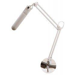 Трансвит Delta1 (белый) - ОсвещениеНастольные лампы и светильники<br>Светильник настольный на струбцине, патрон G23, мощность 11 Вт, в комплекте люминесцентная лампа.