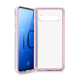 Чехол-накладка для Samsung Galaxy S10 (ITSKINS Hybrid MKII SGS0-HYBMK-LKTR) (розовый) - Чехол для телефонаЧехлы для мобильных телефонов<br>Чехол плотно облегает корпус и гарантирует надежную защиту от царапин и потертостей.