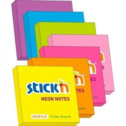 Блокнот Hopax 21164 неоновый оранжевыый 76*76мм 100л - Бумага для записей самоклеящаясяБумага для записей самоклеящаяся<br>Вес (кг) 0.045, Объем (м3) 6.0E-5