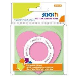 Блокнот Hopax 21545 Сердце розовый 76*76мм клей по периметру - Бумага для записей самоклеящаясяБумага для записей самоклеящаяся<br>Вес (кг) 0.021, Объем (м3) 5.0E-5