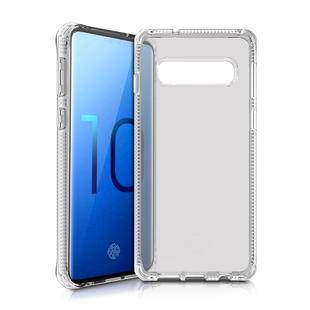 Чехол-накладка для Samsung Galaxy S10 Plus (ITSKINS Spectrum SGSR-SPECM-TRSP) (прозрачный) - Чехол для телефонаЧехлы для мобильных телефонов<br>Чехол плотно облегает корпус и гарантирует надежную защиту от царапин и потертостей.