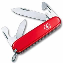 Нож перочинный Victorinox Recruit 0.2503 10 функций 84мм красный - VictorinoxVictorinox<br>Вес (кг) 0.04