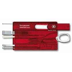 Швейцарская карта Victorinox SwissCard Ruby 0.7100.T 10 функций полупрозрачный красный - VictorinoxVictorinox<br>Вес (кг) 0.07, Объем (м3) 0.0001