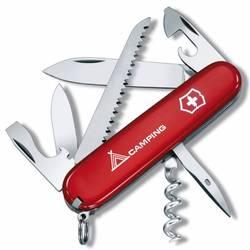 Нож перочинный Victorinox Camper 1.3613.71 91мм 13 функций красный с логотипом \\\\\camping\\\\\ - VictorinoxVictorinox<br>Вес (кг) 0.08, Объем (м3) 0.0001