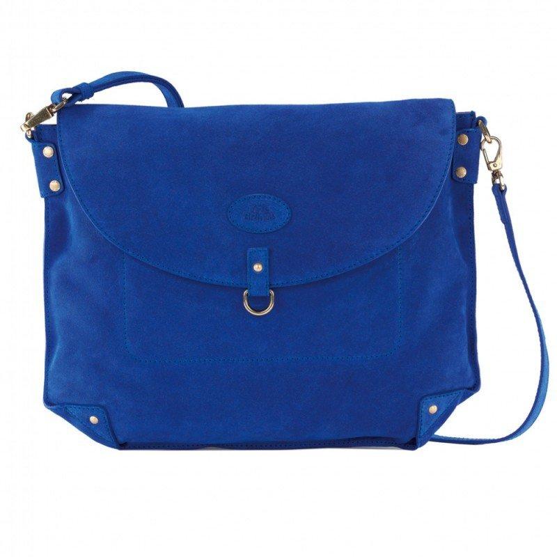fba20d99d2c7 РосТест - официальная гарантия производителя сумка женская the bridge на  длинном ремне 43x34x4см зеленая натур кожа (04442314-43)