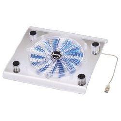 Охлаждающая подставка для ноутбука до 17 (Hama Maxi H-39689) (прозрачный) - Охлаждающая подставка для ноутбукаОхлаждающие подставки для ноутбуков<br>Предотвращает перегревание ноутбука. Компактный дизайн позволяет использовать подставку в самых разных ситуациях.