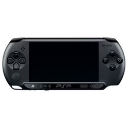 Sony PlayStation Portable PSP E1008 + игра Cars 2 ESN в комплекте (PS719218494) (черный)