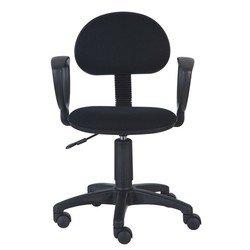 Кресло Бюрократ CH-213AXN/B (черный) - Стул офисный, компьютерныйКомпьютерные кресла<br>Классическое кресло из ткани, эргономичная спинка, регулировка по высоте (система газлифт)