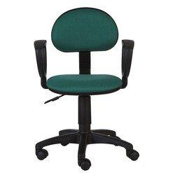 Кресло Бюрократ CH-213AXN (зеленый) - Стул офисный, компьютерныйКомпьютерные кресла<br>Классическое кресло из ткани, эргономичная спинка, регулировка по высоте (система газлифт)