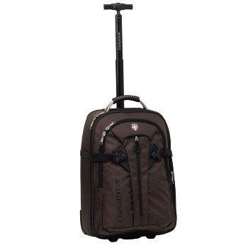 772404039363 РосТест - официальная гарантия производителя чемодан на колесах расширяемый  (ellehammer h-103291 bergen s) (коричневый)