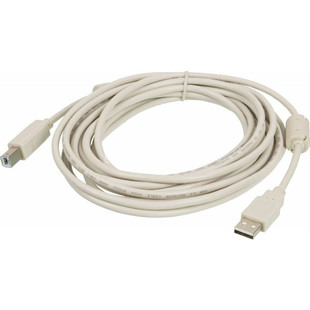 Kабель USB 2.0 A-B 5m с ферритовыми кольцами (Ningbo) - Кабель, переходник
