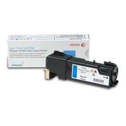 Тонер-картридж для Xerox Phaser 6140 (106R01481) (голубой) - Картридж для принтера, МФУКартриджи<br>Совместим с моделью: Xerox Phaser 6140.