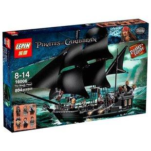 Конструктор Lepin Pirates of the Caribbeans 16006 Черная Жемчужина - КонструкторКонструкторы<br>