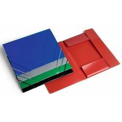 Папка на резинке Бюрократ PR04 (ассорти) - Папка на резинкеПапки на резинке<br>Папка на резинке Бюрократ PR04 - А4, пластик 0.4мм, корешок 15мм
