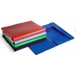 Папка на резинке Бюрократ PR05 (черный) - Папка на резинкеПапки на резинке<br>Папка на резинке Бюрократ PR05 - А4, пластик 0.5мм, корешок 30мм