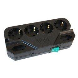 Сетевой фильтр Most CRG 5м (6 розеток) (черный) - Сетевой фильтр