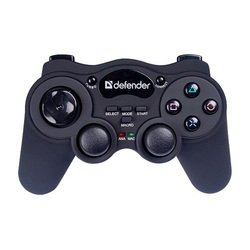 геймпад defender game racer wireless usb ps