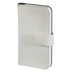 чехол-книжка для apple iphone 5, 5s (hama diary case h-118909) (белый)