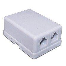Розетка TWT (TWT-SS2-1212-WH) (белый) - Розетка, выключатель, рамкаРозетки, выключатели и рамки<br>Двухпортовая телефонная розетка с портами RJ-12, предназначена для монтажа на стену.