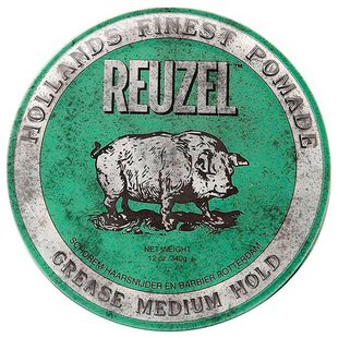 REUZEL Помада Green Medium Hold