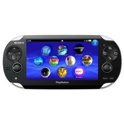 Игровая консоль Sony PlayStation Vita 2000 slim PS719296393 + карта памяти 16Gb + Disney Mega Pack (черный)