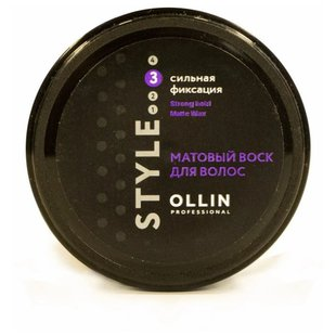 OLLIN Professional Воск Strong Hold Matte Wax