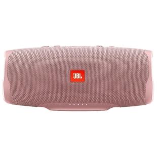 JBL Charge 4 (розовый) - Колонка для телефона и планшетаПортативная акустика<br>Портативная акустика стерео, мощность 30 Вт, питание от батарей, линейный вход, Bluetooth, влагозащищенный корпус.
