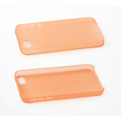 Пластиковый чехол-накладка для Apple iPhone 4, 4S (SM000251) (оранжевый) - Чехол для телефонаЧехлы для мобильных телефонов<br>Плотно облегает корпус и гарантирует надежную защиту от царапин и потертостей.
