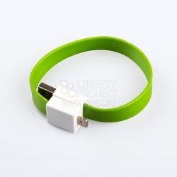 Дата кабель Lightning - USB для Apple iPhone, iPad (на магните) (SM001675) (зеленый) - КабелиUSB-, HDMI-кабели, переходники<br>Позволит подключить к персональному компьютеру любые устройства с разъемом Apple 8-pin Lightning.